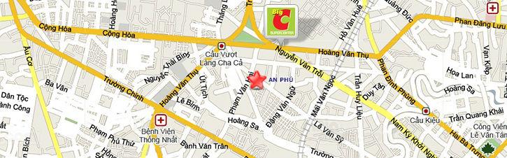 Bản đồ Công ty cây xanh An Phú